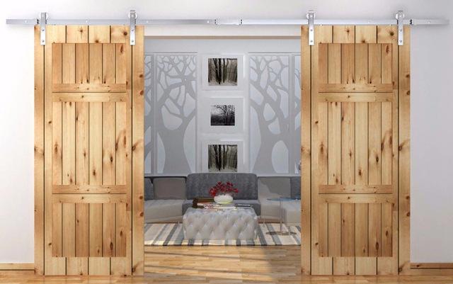 Functional%2B%2526%2BStylish%2BSliding%2BRolling%2BDividers%2BWood%2BDoors%2B%252812%2529 30 Practical & Fashionable Sliding Rolling Dividers Wooden Doorways Interior