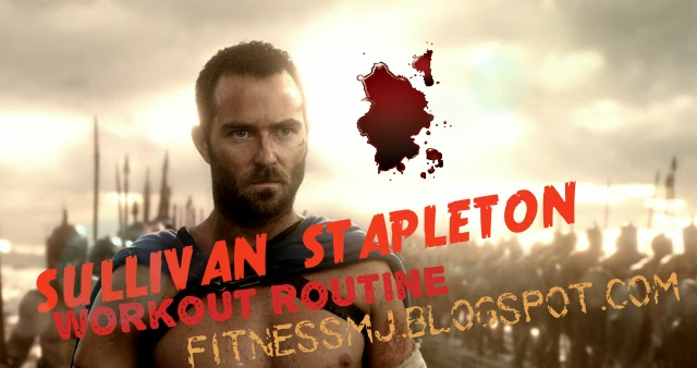 300 rise of an empire sullivan stapleton workout routine