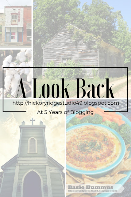 hickory ridge studio blogging writing anniversary