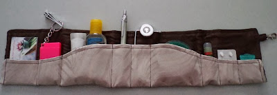 The Wave Purse Organizer by eSheep Designs
