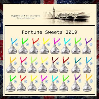 Fortune Sweets 2019 - Предсказательные Конфеты (на английском)
