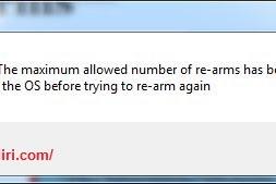 Mengatasi Error 0xc004d307 Rearm Windows
