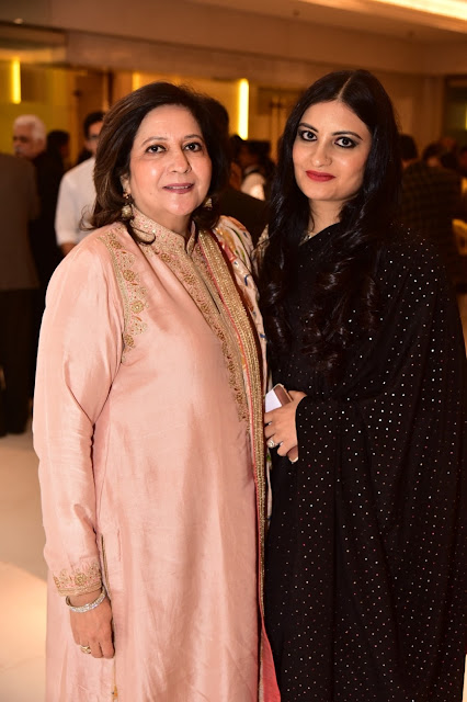 Dolly Bhatia, VP-Quota International with Leher Sethi