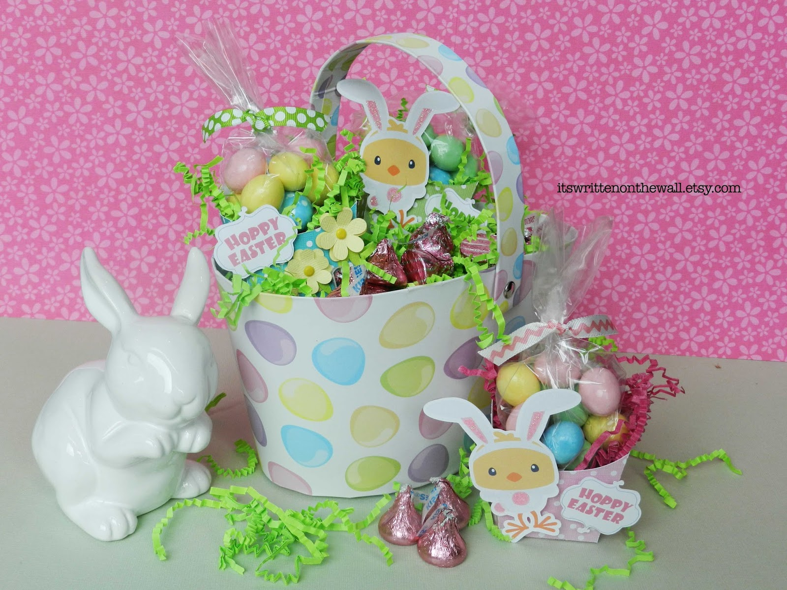 Its written on the wall easter treat gift boxes put something easter treat gift boxes put something special in the kids easter basket a sweet bunny treat negle Choice Image