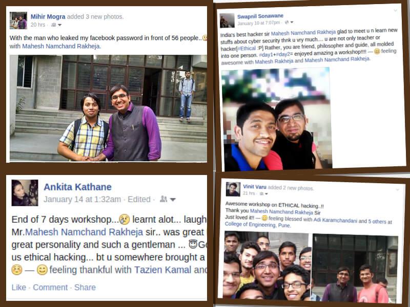 Mahesh Rakheja's Feedback