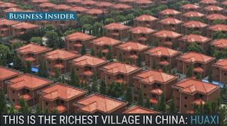 Το πλουσιότερο χωριό στην Κίνα και γιατί είναι ένα απ