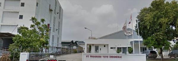 Lowongan Kerja PT. Progress Toyo Indonesia Kawasan MM2100