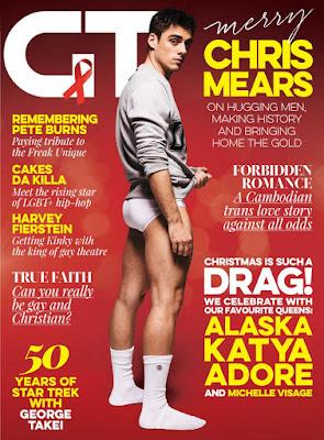 Chris Mears en la portada de la Revista GT