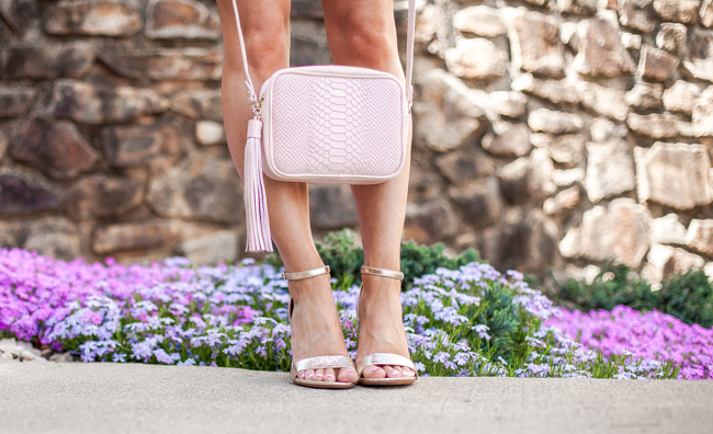 gigi new york madison petal pink crossbody bag