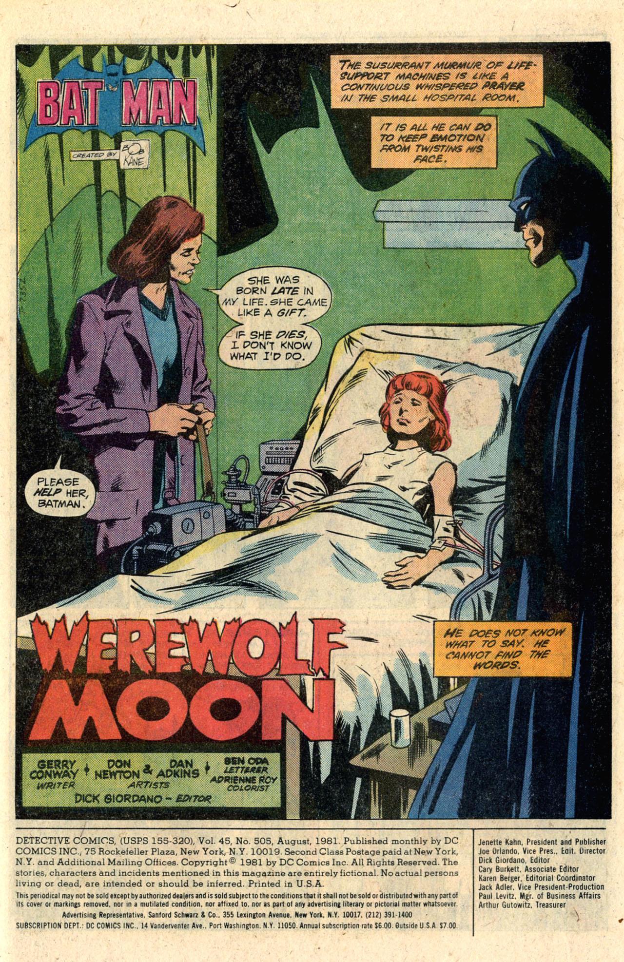 Detective Comics (1937) 505 Page 2