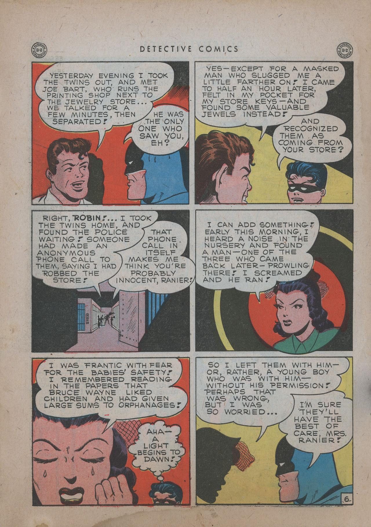 Read online Detective Comics (1937) comic -  Issue #101 - 8
