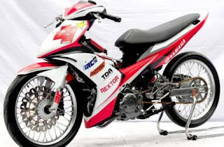 Foto Modifikasi Jupiter MX Drag