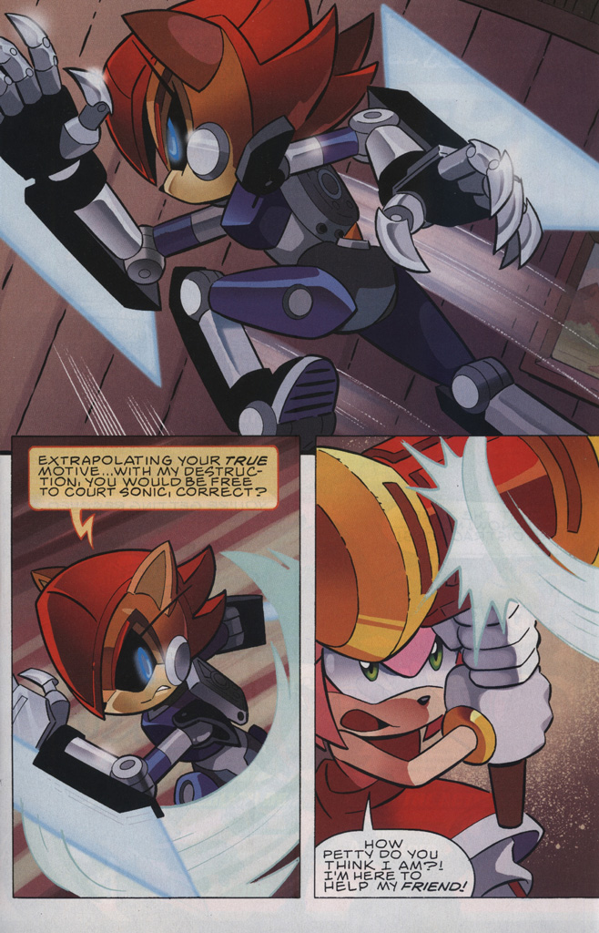 Read online Sonic The Hedgehog comic -  Issue #239 - 17
