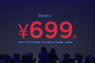 Xiaomi Redmi 7 Resmi Dirilis, Harga Mulai Satu Jutaan Dengan Snapdragon 632