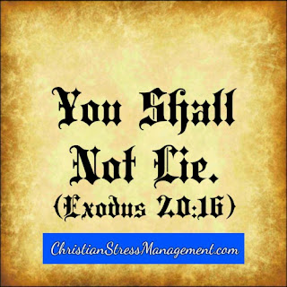 The ninth 9 commandment You shall not lie Exodus 20:16