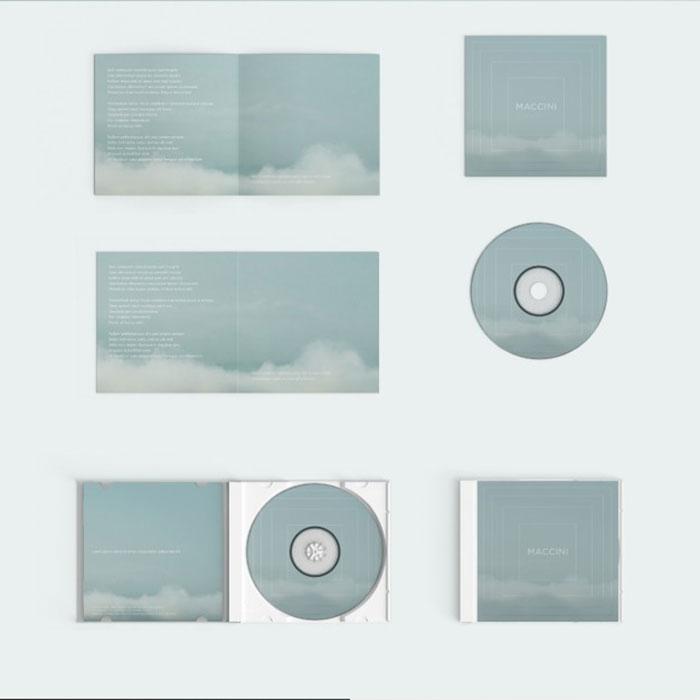 Disc Cover Mockup