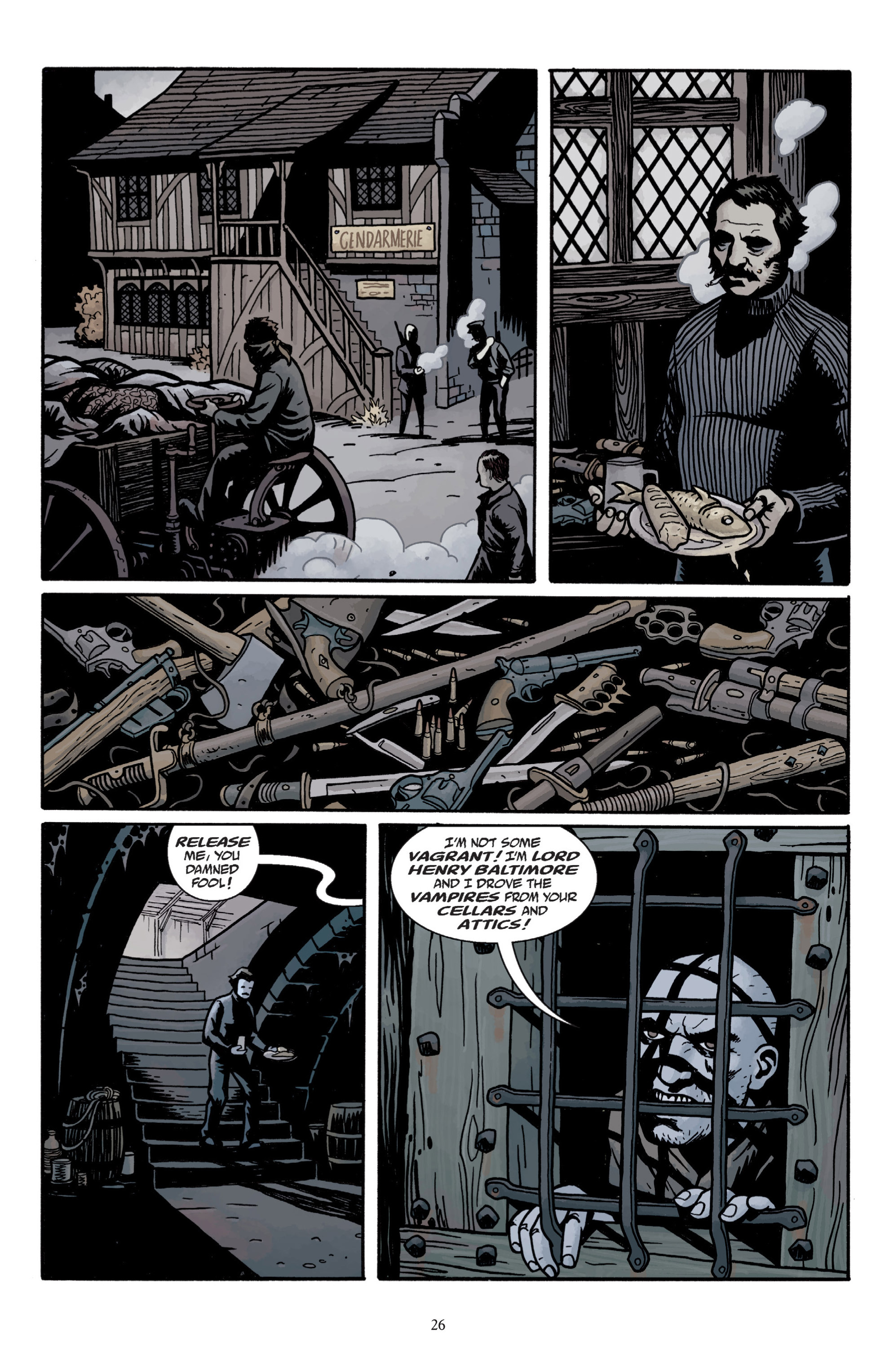 Read online Baltimore: The Plague Ships comic -  Issue # TPB - 28