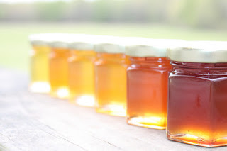 little jars of honey
