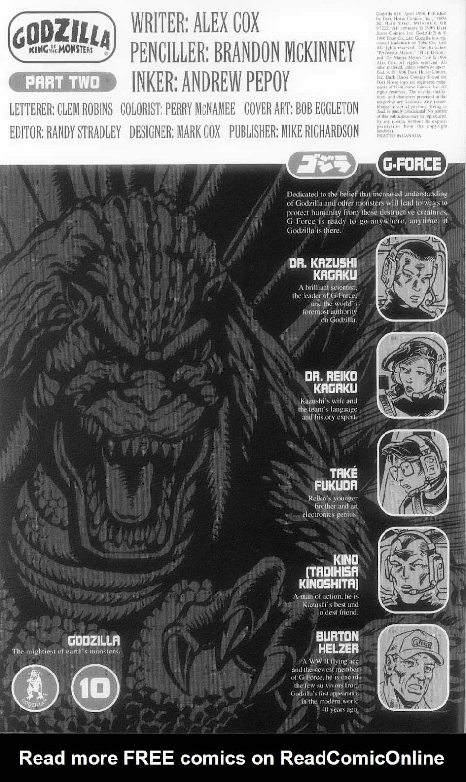Godzilla (1995) Issue #10 #11 - English 3