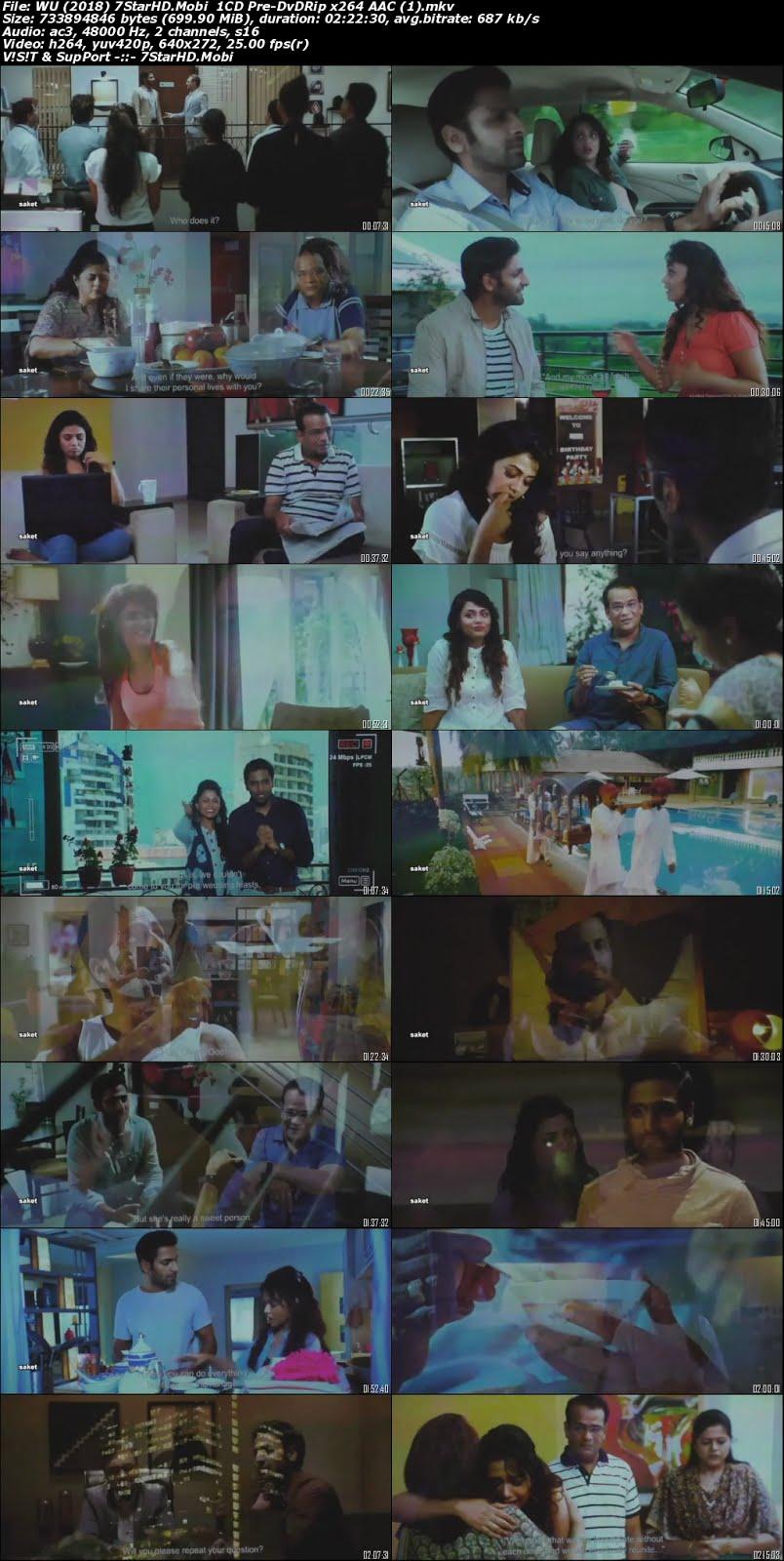 Whats up lagna (2018) Marathi 1CD Pre-DVDRip x264 700MB 2