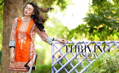 Pakistani summer lawn dresses 2017