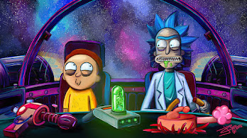 Rick and Morty, Spaceship, 4K, #7.2197