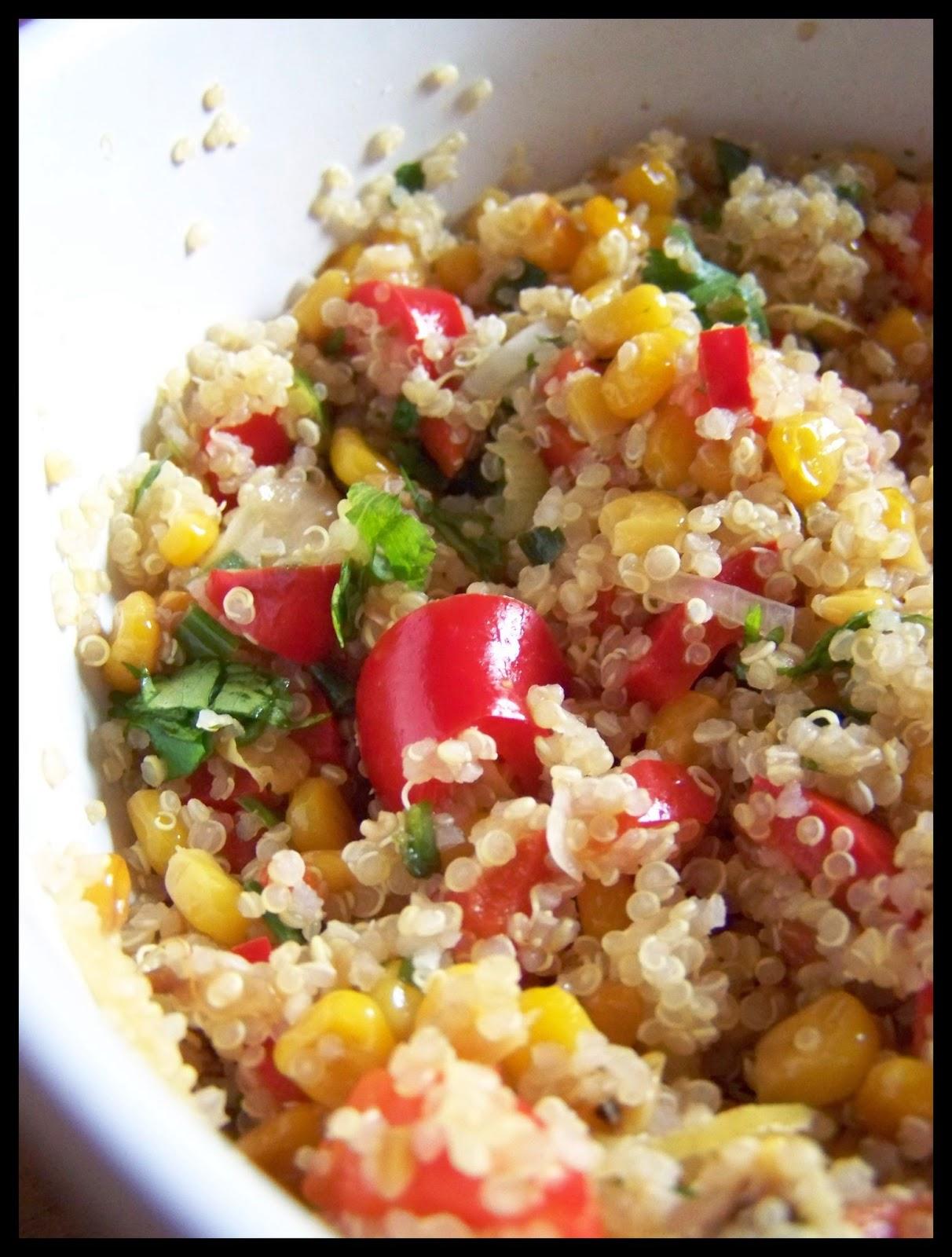 Mis recetas comida hecha en casa como hacer ensalada de for Como se cocina la quinoa para ensalada