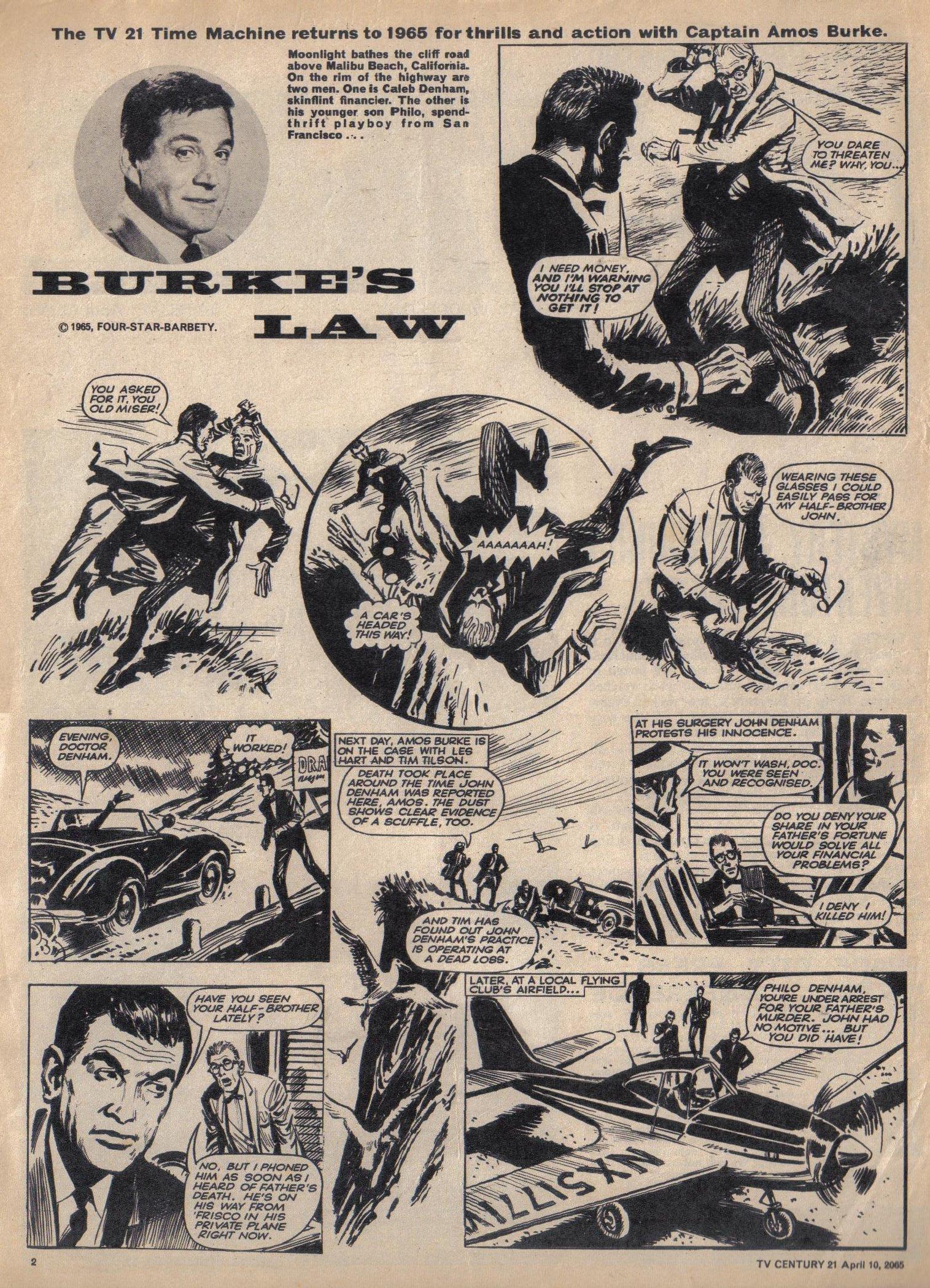 Read online TV Century 21 (TV 21) comic -  Issue #12 - 2