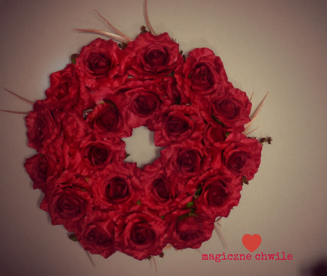 czerwone róże…