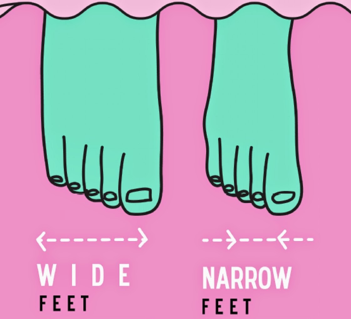 Size Up Shoes For Wide Feet