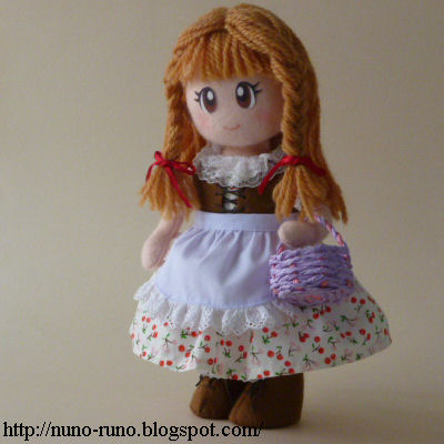 Doll with the basket