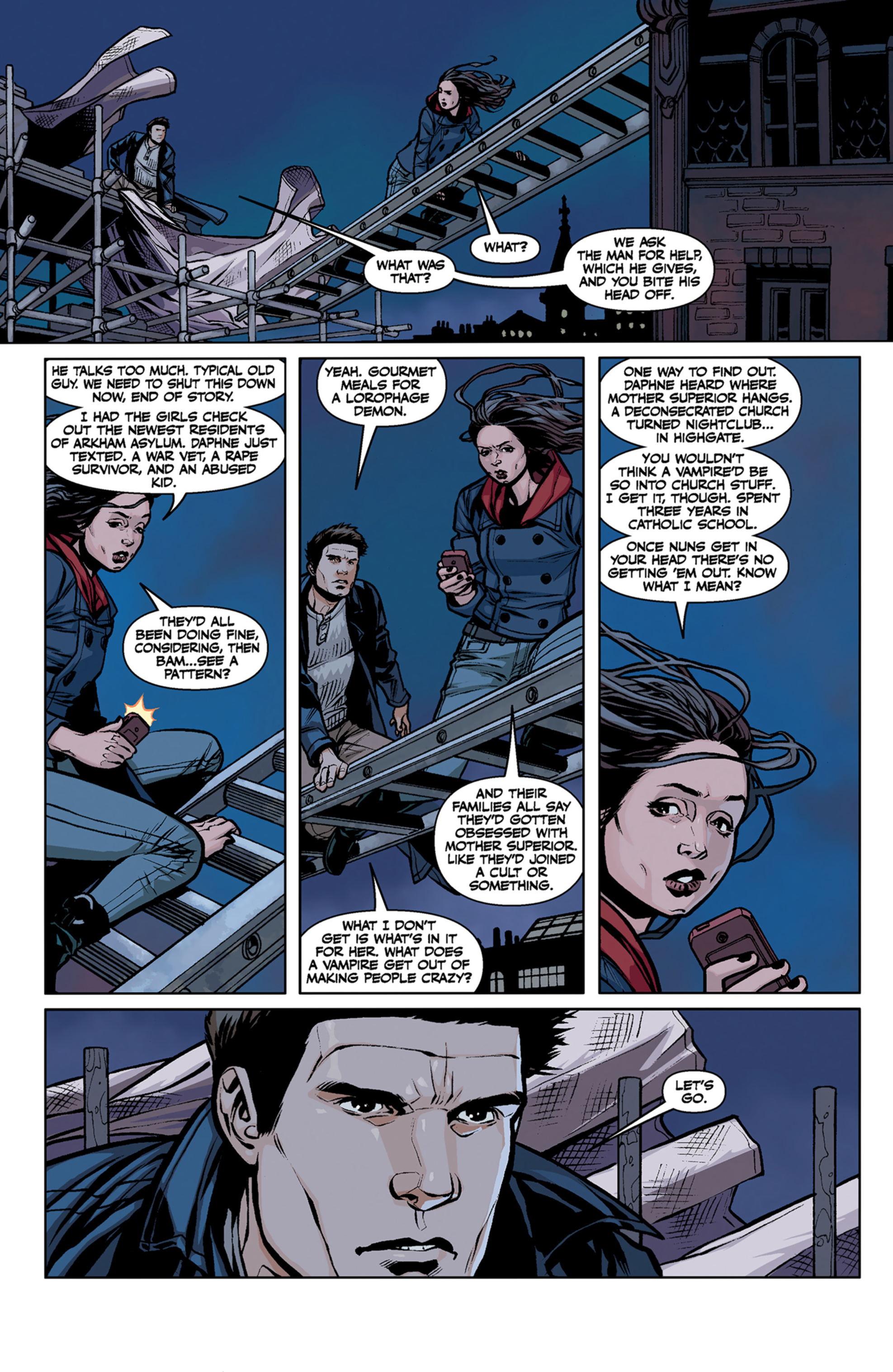 Read online Angel and Faith comic -  Issue #6 - 20