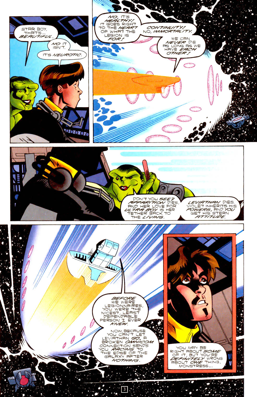 Legion of Super-Heroes (1989) 102 Page 3