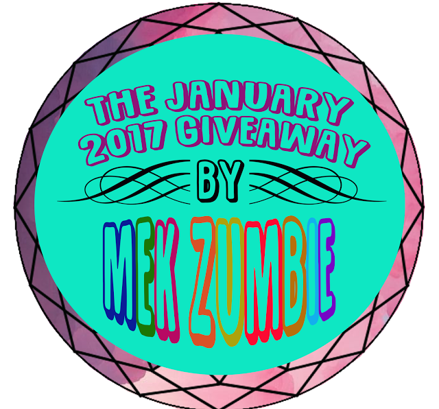 The January 2017 Giveaway by Mek Zumbie