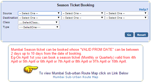 MSST Ticket Booking