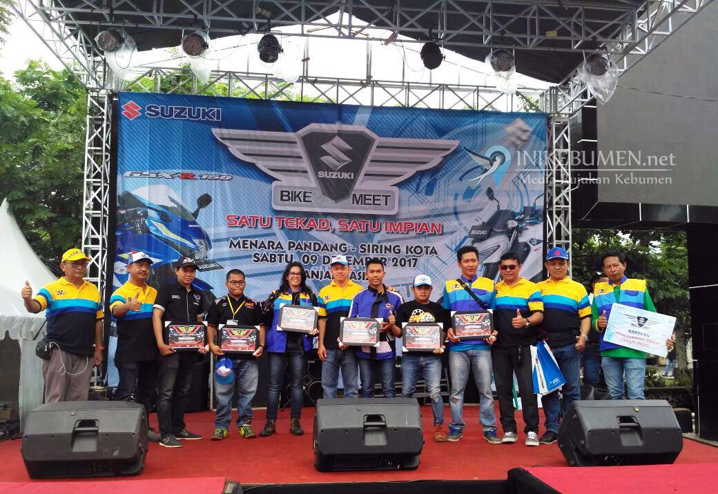 Suzuki Bike Meet Banjarmasin, Antusiasme Ratusan Bikers Kalimantan Beraksi Sosial