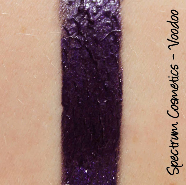 Spectrum Cosmetics Voodoo Lipgloss Swatches & Review