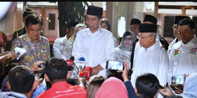 Kubu Jokowi Klaim Menangkan Pertarungan Udara