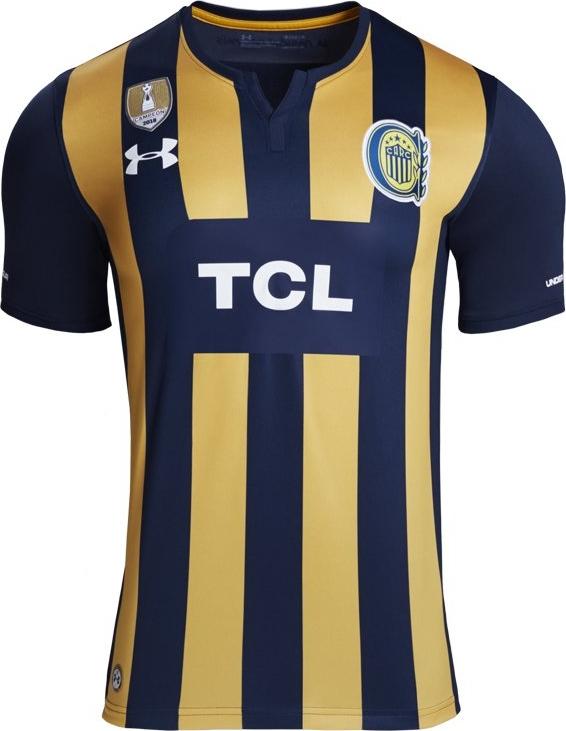 d0135e120e Under Armour lança a nova camisa titular do Rosario Central - Show ...