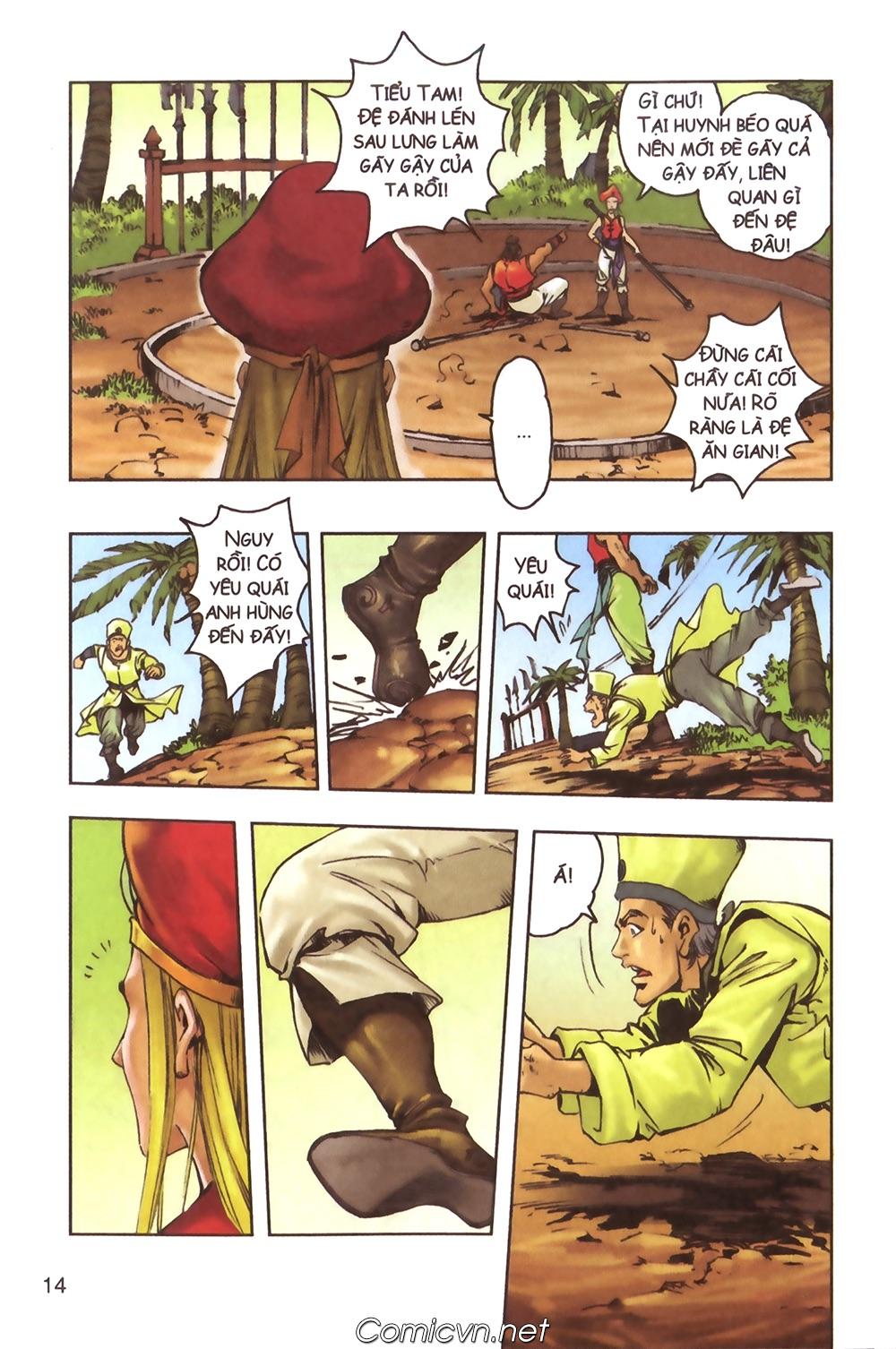 Tây Du Ký màu - Chapter 124 - Pic 11