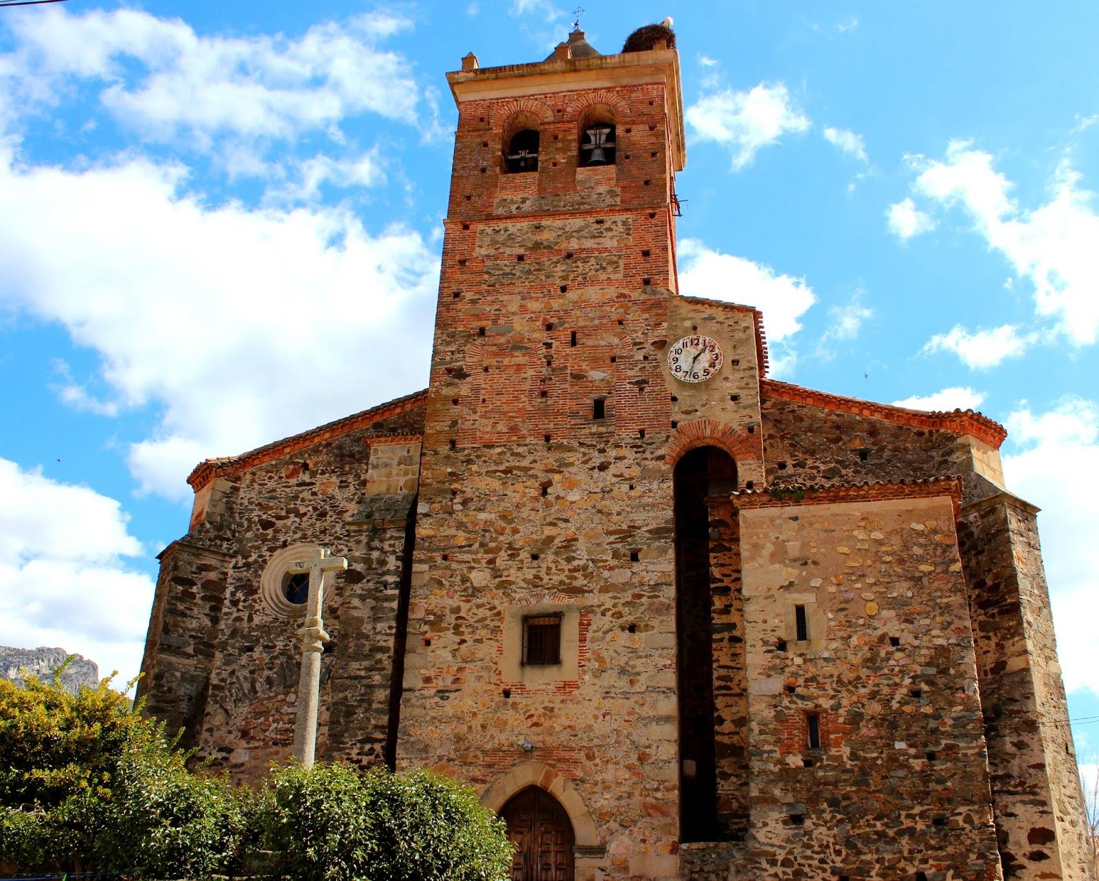 Iglesia de San Juan Bautista en Berzocana