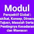 Perspektif Global : Hakikat, Konsep, Dimensi, Tujuan, Masalah Serta  Pentingnya Kesadaran dan Wawasan