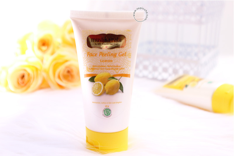 Mustika Ratu Face Peeling Gel Lemon