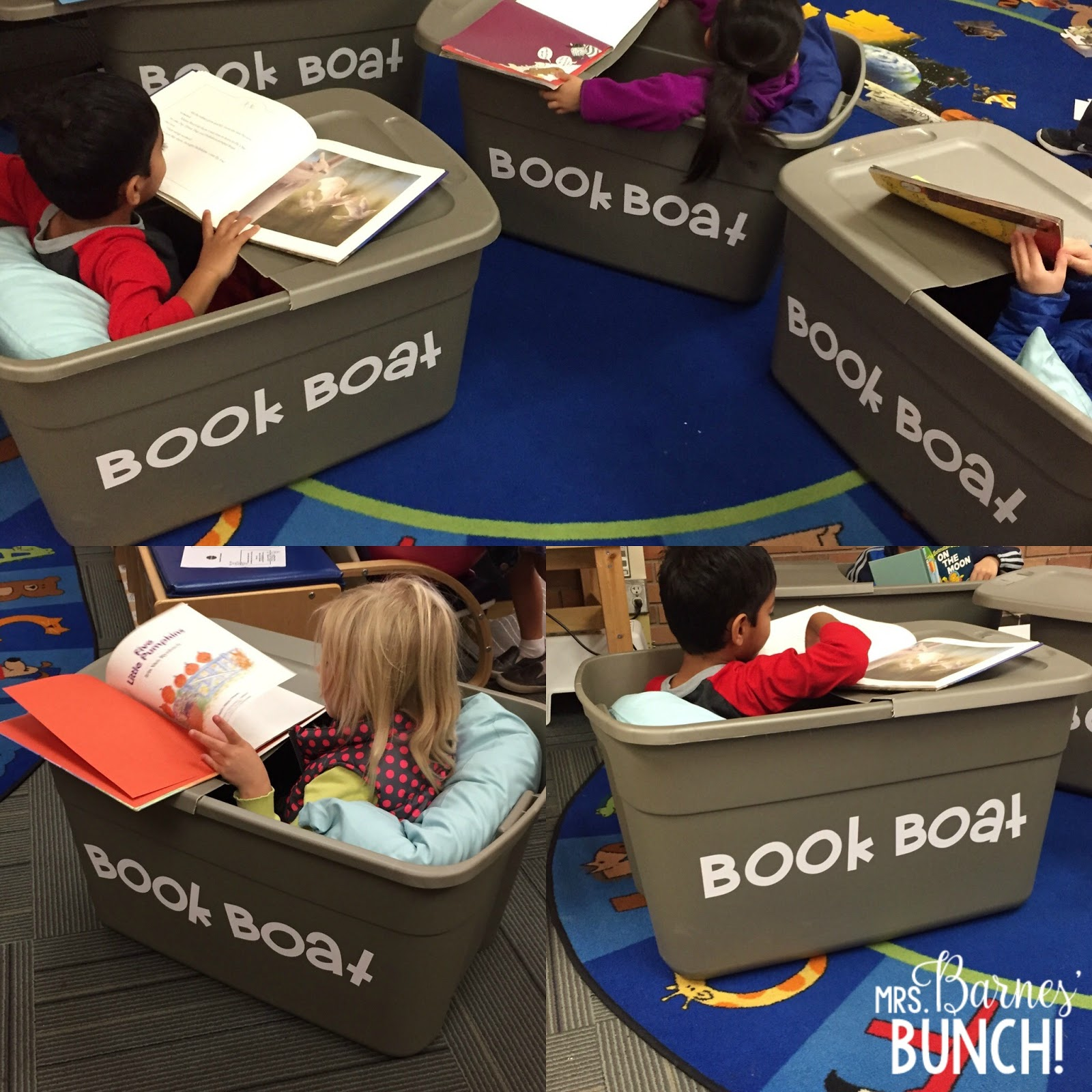Mrs Barnes Bunch Let S Talk About Book Boats