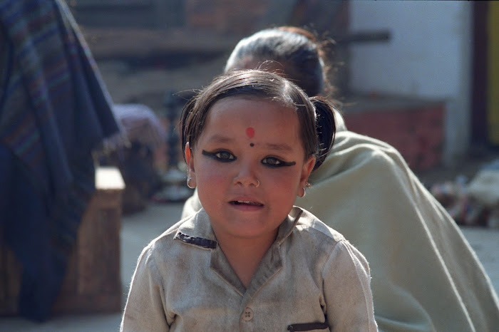 Népal, Katmandou, Durbar Square, © L. Gigout, 1990