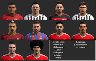 Big Facepack Vol.5 Pes 2013 by SG8