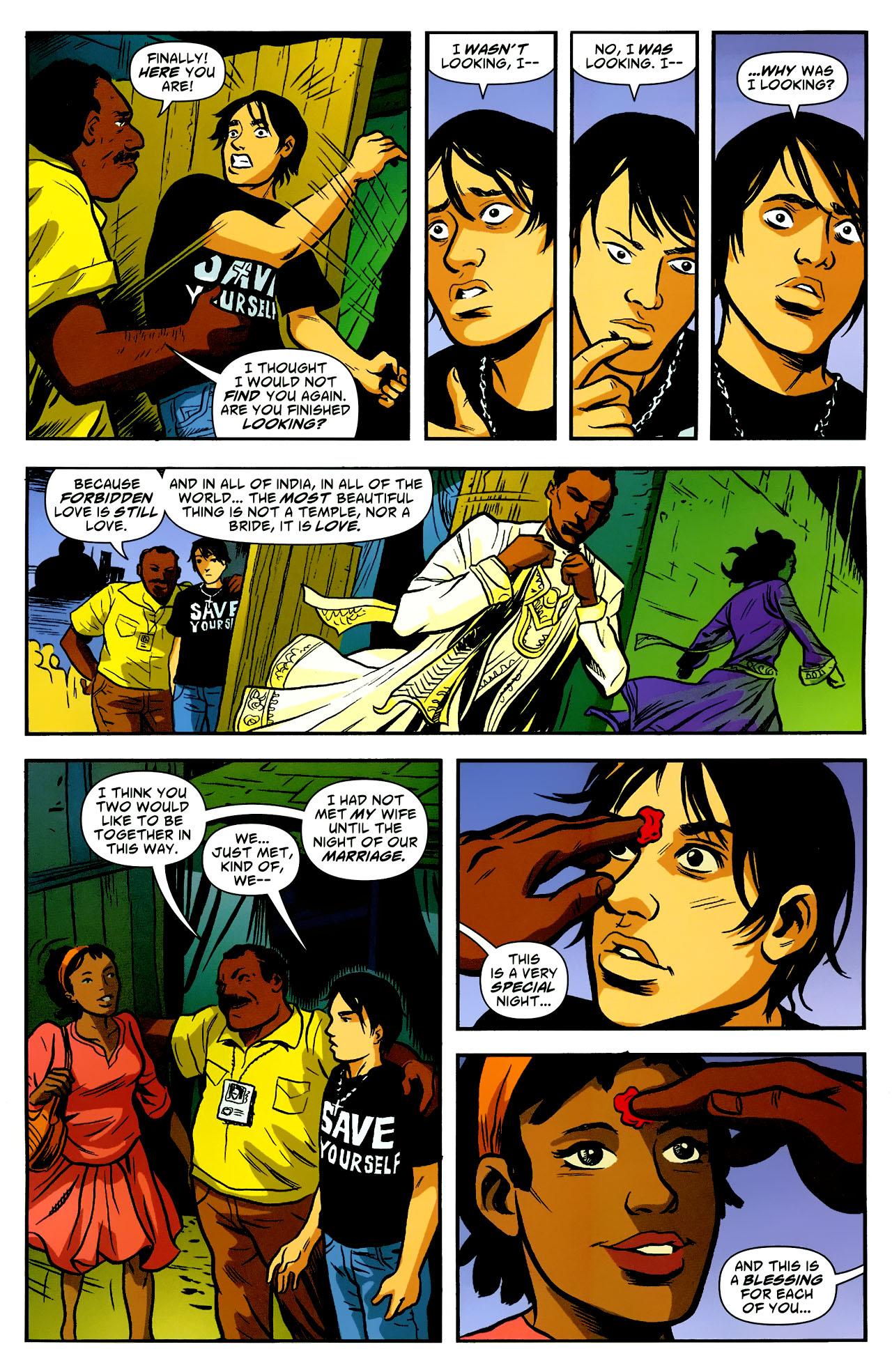 Read online American Virgin comic -  Issue #18 - 22