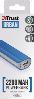 caricabatterie power bank trust 21222