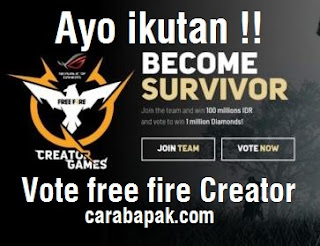 carabapak.com free fire creator games garena free fire hunger games ff