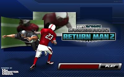 return man game , espn game, flash game